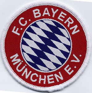 FC-Bayern-Munchen-Munich-Retro-80-039-s-90-039-s-Football-Badge-Patch-7cm-Diameter