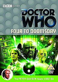 Doctor-Who-Four-to-Doomsday-DVD-Factory-sealed-peter-davison-disp-24hrs