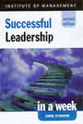 Leadership in a Week by Carol A. O'Connor (Paperback, 1998)
