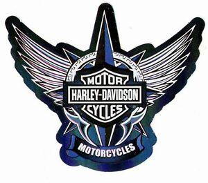 Harley-Davidson-Bar-amp-Shield-Freedom-Blue-Logo-Stickers