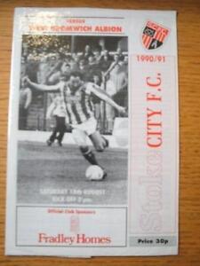 18-08-1990-Stoke-City-v-West-Bromwich-Albion-Friendly