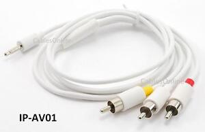 3-5mm-Stereo-Plug-to-3-RCA-Composite-iPod-to-TV-Audio-Video-Cable-IP-AV01