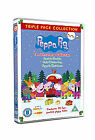 Peppa Christmas Triple - Christmas/ Cold Winter Day/ Grotto (DVD, 2011)