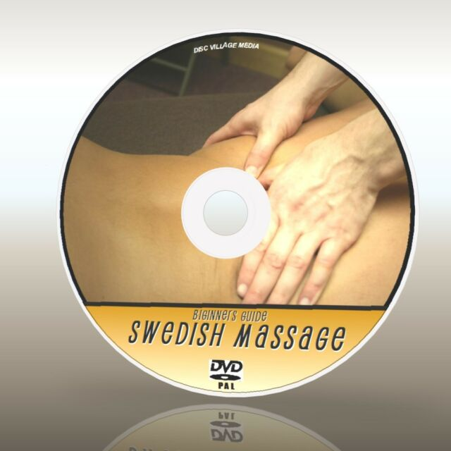 RELAXING SWEDISH BODY MASSAGE INSTRUCTION, STEP BY STEP GUIDE / TRAINING DVD NEW