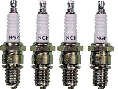 4 NEW J9A NGK SPARK PLUGS SUZUKI GSXR1100 GSXR 1100 1986 1987 1988 GSX-R1100