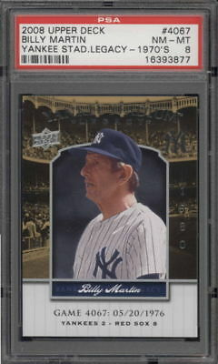 PSA - Yankees Billy Martin 4067