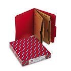 Smead SafeSHIELD Classification Folder with Pocket Divider - Letter