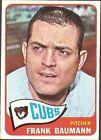 1965 Topps Frank Baumann Chicago Cubs #161 Baseball Card
