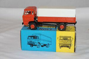 597ms Lion Voiture 43 Daf Vrachauto Couvert Livraison Camion, Rouge, Superbe,