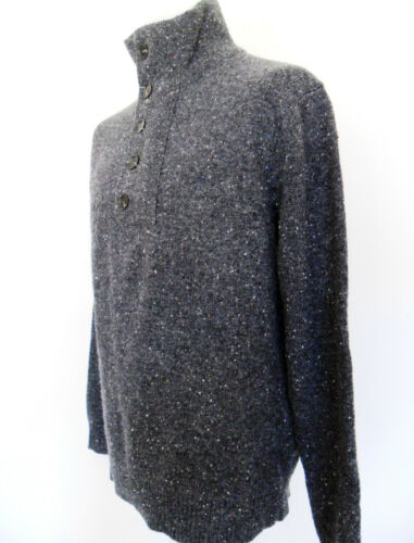 Turtle Knit Charcoal Large French 58cx6 Neck Connection Jumper Charcoal pq7UZw6a