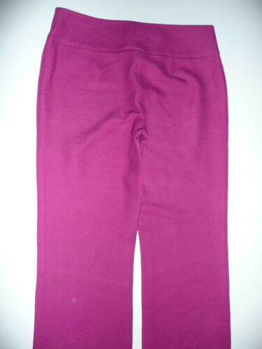 coton 4 Inseam Collection Fuschia Entrejambe Magaschoni italien en Euc lin de Pantalon rose qvY7SwxH