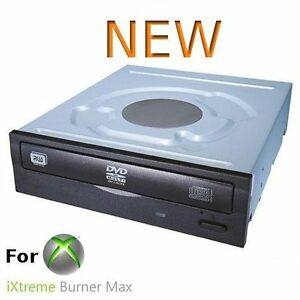 Preflashed-ixtreme-Lite-On-IHAS124B-Black-24x-DVD-RW-SATA-Burner-Brand-NEW