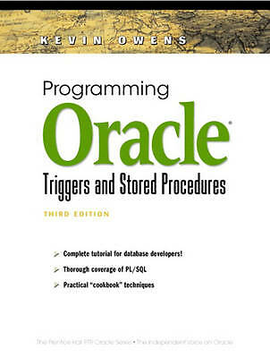 Programming Oracle Triggers and Stored Procedures (3rd Edition) (Prentice Hall