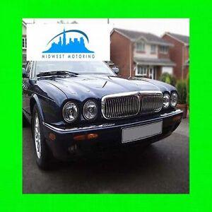 1995 2003 Jaguar Xj Chrome Trim For Grill Grille 5yr Wrnty Xj6 Xj8 Xj12 6 8 12 Ebay