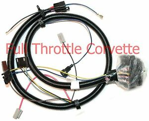 1977 late corvette engine wiring harness 2nd design ebay. Black Bedroom Furniture Sets. Home Design Ideas