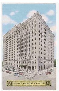 Hotel-Monteleone-New-Orleans-Louisiana-linen-postcard