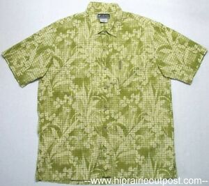 Columbia-Short-Sleeve-Button-Down-Hiking-Camp-Shirt-Mens-Size-Large