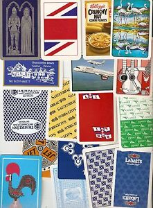 50-Vintage-Collectable-Single-Playing-Cards-Mixed-Bag-MM