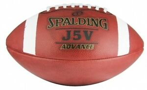 SPALDING-Gridiron-JV5-Advanced-Leather-Ball