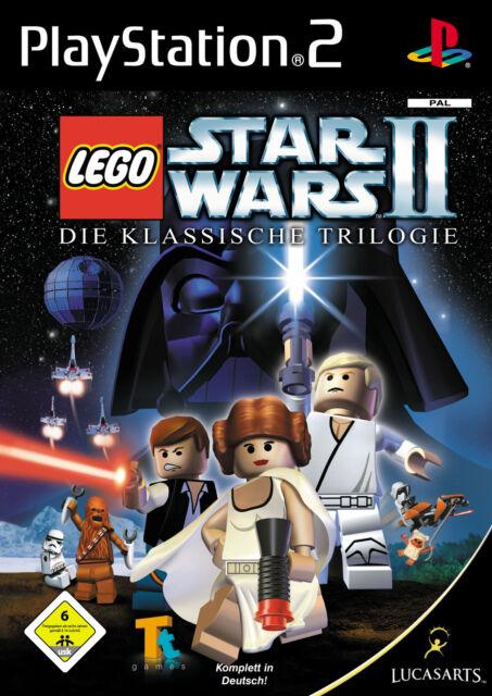Lego Star Wars II / 2 Die Klassische Trilogie mit Anleitung (PS2) - DVD wie Neu
