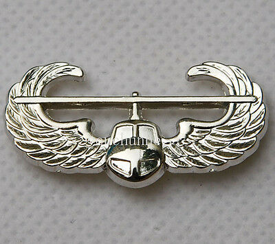 US UNITED STATES AIR FORCE AIR ASSAULT QUALIFICATION METAL BADGE -32199