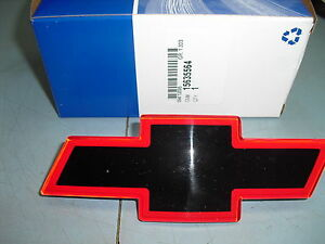 94-2005 S10 S-10 Pickup Pick Up Red SS Grille Emblem ...