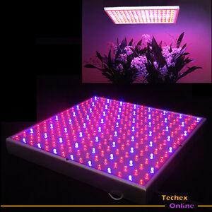 14w led grow panel 225 pflanzenlampe wuchs bl te lampe neu ebay. Black Bedroom Furniture Sets. Home Design Ideas