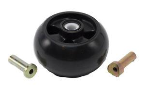 John Deere Mower Deck Gage Wheel Kit AM125172 OEM New 48, 48C, 54, 54C, 54D, 62C
