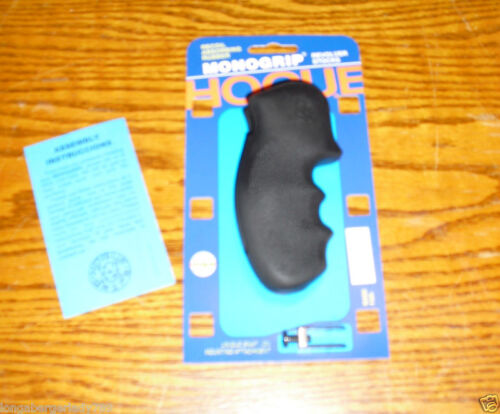 HOGUE SMITH WESSON S&W K L ROUND BUTT FRAME RUBBER GRIP 10 12 19 64 65 66 586 +