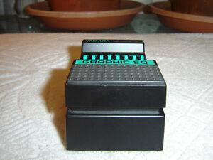 yamaha ge 10mii 7 band graphic equalizer eq vintage guitar pedal ebay. Black Bedroom Furniture Sets. Home Design Ideas