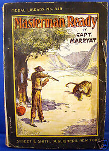 Street-Smith-Medal-Library-No-329-Masterman-Ready-by-Capt-Marryat