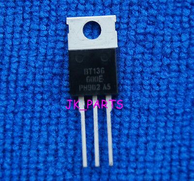 10pcs BT136 BT136-600E BT136-600 4A Triac 600V TO-220 Philips