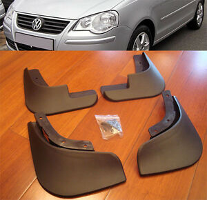 05-09-VOLKSWAGEN-POLO-MK4-VW-MUD-FLAPS-FRONT-amp-REAR-SPLASH-GUARD-MUDGUARDS-FLAP
