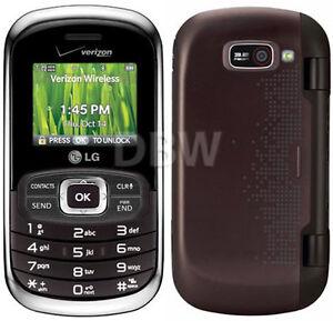 NEW-in-BOX-LG-OCTANE-VN530-BROWN-VERIZON-CDMA-FLIP-CELL-PHONE