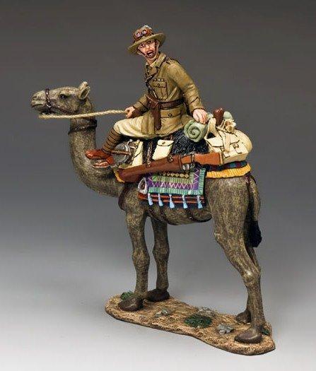 KING AND COUNTRY  AUSTRALIAN LIGHT HORSE  AUSTRALIA OFFICER  AL036  REDUCED