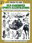 Ready-to-Use Old-Fashioned Sports Illustrations by Dover Publications Inc. (Paperback, 2003)