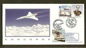 CONCORDE - 2003 Last Boston Flight D/Cancelled Cover
