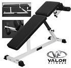 Valor Athletics 2DF0021BM Valor Fitness DF 2 Decline Flat Bench - 844192000741