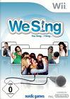 We Sing (Nintendo Wii, 2009, DVD-Box)