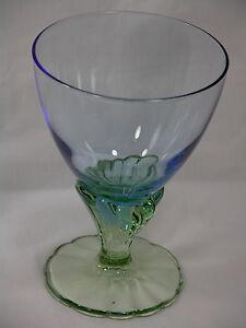 ELEGANT-ART-GLASS-WATER-GOBLET-BORMIOLI-ROCCO-BAHAI-FREE-SHIPPING-USA