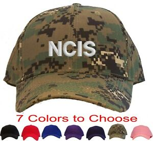 Ncis Embroidered Baseball Cap Available In 7 Colors Hat