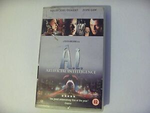 VHS Video  AI  Artificial Intelligance Jude law amp Haley Joel Osment - Gloucester, Gloucestershire, United Kingdom - VHS Video  AI  Artificial Intelligance Jude law amp Haley Joel Osment - Gloucester, Gloucestershire, United Kingdom
