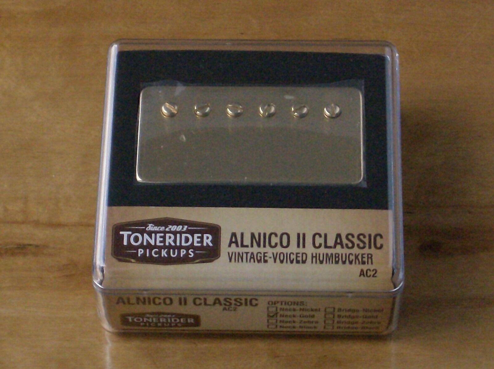 Tonerider Alnico II ac2 oro improved Fifties PAF Bridge Bridge Bridge vintage pu 8.5k Vintage  el estilo clásico