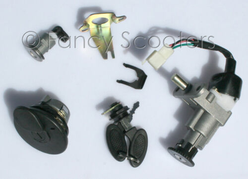 Ignition START Key Set for B-09 SCOOTER PEACE TPGS-810  50cc 150cc GAS SCOOTERS