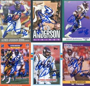 Vikings-Alfred-Anderson-1989-Topps-signed-card
