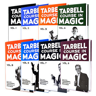 Tarbell Complete Course in Magic All 1 2 3 4 5 6 7 8 Books Illusion Tricks