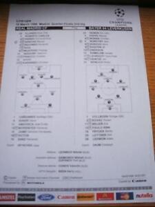 18-03-1998-Colour-Teamsheet-Real-Madrid-v-Bayer-Leverk