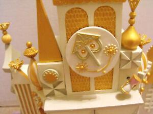 Disney-It-039-s-A-Small-World-Musical-Clock-LE-Figure-Big