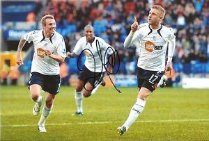 Signed-12-x-8-inch-photo-Bolton-Wanderers-Zat-Knight
