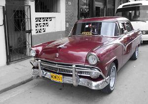 Original-Poster-Print-Cuba-Street-Car-Ford-Fairlane-A3-A4
